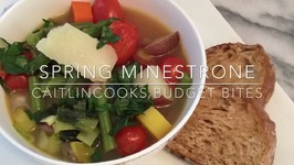 Spring Minestrone With Leeks / Budget Bites Episode Number 2
