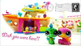 New Haul LPS Cruise Ship And Littlest Pet Shop House Pets And Cabin Crew 11 Packs