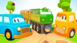 Clever Cars and Toy Trains for Kids- Baby Cartoon