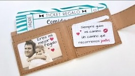 FATHER'S DAY- WALLET WITH GIFT VOUCHERS   PHOTO