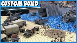 LEGO World War 2 D-Day-Omaha Beach Normandy MOC