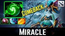 Miracle Naga Siren Comeback Dota 2
