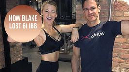 Blake Lively's training looks like a piece of cake