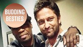 Gerard Butler & 50 Cent Got A Bromance Going