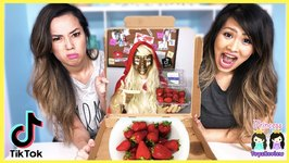 Tik Tok Master Made Us Do This - Life Hack And DIY Strawberries - Watch Now