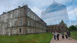 Join me at The Palace of Holyroodhouse in Edinburgh Scotland