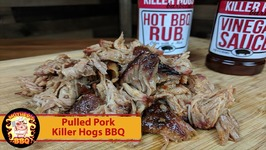 Pulled Pork Kamado.Pulled Pork With Killer Hogs Hot Bbq Rub And Vinegar Sauce On The