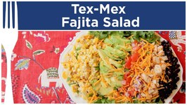 Tex-Mex Fajita Salad