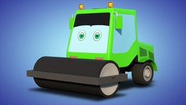 Formation And Uses - Road Roller - Vehicle Videos For Children - Kids Channel