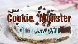 Cookie Monster Dessert