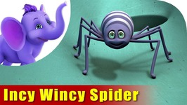 Incy Wincy Spider Climbed Up The Water Spouts  Nursery Rhyme