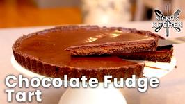 Chocolate Fudge Tart / Gluten Free - Dairy Free / Keto Dessert