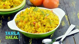 Tomato Poha-Indian Breakfast Recipe