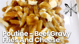 Poutine - Beef Gravy Fries And Cheese