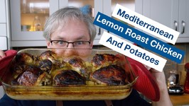 Mediterranean Lemon Roast Chicken And Potatoes