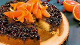 Cranberry - Orange Upside Down Cake