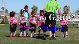 DEION'S LAST SOCCER GAME and AFTER PARTY at PETER PIPER PIZZA! ( little striker vs rattlers)