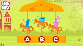 ABCD Poem  Popular Nursery Rhyme For Kids  Peekaboo
