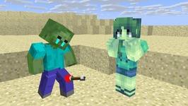 Girl Zombie Life - Minecraft Animation