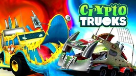 Ness Seal Vs Yippii - Cryptotrucks Episodes - Video For Toddlers - Good Vs Evil - Truck Cartoons