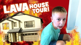 The Floor Is Lava House Tour Edition Family Fun Challenge