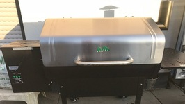 Gmg Daniel Boone Pelletgrill Unboxing And First Trial