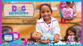 Doc McStuffins to the Rescue  Baby Cece Opens Doc McStuffins Mini Surprise Bags