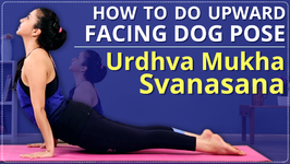 How To Do Upward Facing Dog Pose Learn, Urdhva Mukha Svanasana In 2 Minutes - Simple Yoga Lessons