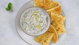 Swiss Chard Tzatziki-Yogurt Dip