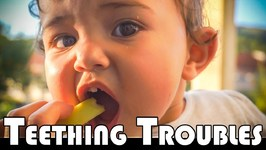 TEETHING TROUBLES 11 MONTH BABY - FAMILY DAILY VLOG
