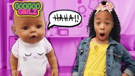 Where Is My Goo Goo Doll? Goo Goo Girlz Hide and Seek Clue Game!
