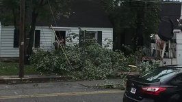 Severe Storm Crashes Through Town Wiping Out Power, Downing Trees