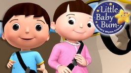 Little Baby Bum - Seat Belt Song - Nursery Rhymes for Babies - Songs for Kids