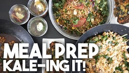 I turned Kale into 5 make ahead dishes - Meal Prep
