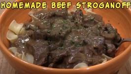 Beef Stroganoff Homemade - How-To Video