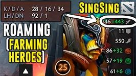 SingSing Elder Titan ROAMING 28 KILLS Dota 2