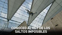 Aún no conoces al rey de los saltos imposibles?