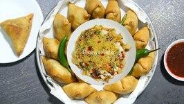 Short Cut Big Crowd Open Samosa Chaat / With Bonus Recipes