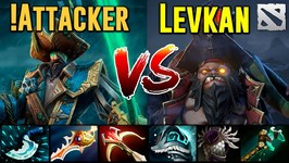 ATTACKER Kunkka vs LEVKAN Pudge Dota 2