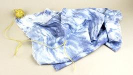 DIY Arashi Shibori Tie Dye