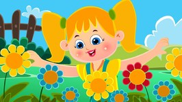 Mary Mary Quite Contrary - Nursery Rhyme Kids Tv - Cartoons For Toddlers