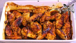 Chicken Wings with Curry Honey Glaze