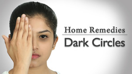 How To Get Rid Of Dark Circles - 3 Ways - Home Remedies With Upasana