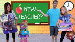 New GOOD Teacher at Fake Toy School !!!