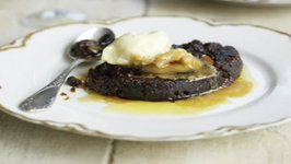 Fried Christmas Pudding