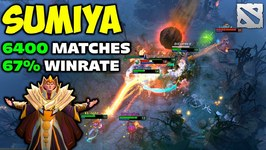 SumiYa Invoker 6400 Matches 67 WIN RATE Dota 2