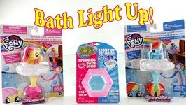 Bath Time with Fluttershy and Rainbow Dash and Mermaid Surprise Toys