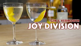 Joy Division Or Age Of Consent Gin Cocktail