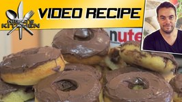 Nutella Chocolate Chip Donuts