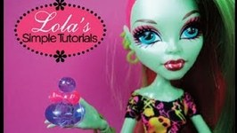 How to Make Doll Perfume Bottles Doll Crafts